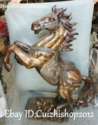 39 Unique China Bronze Running Horse Zodiac Year Horses Dragon Loong Statues