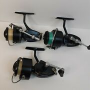 Lot Of 3 Vintage Garcia Mitchell 3002 And 300a1 Fishing Reels