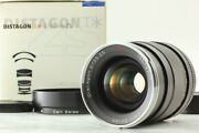 【unused In Box】 Carl Zeiss Distagon T 35mm F/2 Zs Pentax M42 Mount From Japan