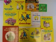 12 Curious George Children Books - Katy No-pocket - George Ride A By N. A. Rey