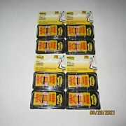 New Lot Of 4 Packs 3m Post-it Sign Here Yellow Flags 400 Total Flags 1 X 1.7