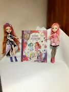 Monster High Ever After High Mix Lot Holly Cupid Sleepover Party Planner