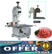 650w Commercial Electric Butcher Frozen Meat Bone Cutting Band Saw Machine 110v
