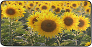 Sunflowers Spring Floral Kitchen Runner Rug Mat Country Rustic Summer Home Decor