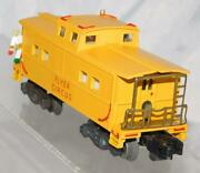 American Flyer Circus Operating Caboose W/ Metal Clown On Deck Repaint 1ofakind