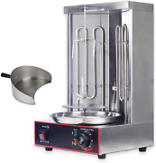 Yooyist Electric Vertical Broiler Shawarma Doner Kebab Gyro Grill Machine With M