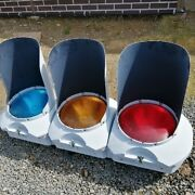Traffic Light The Real Thing Nippon Signal Co. Ltd. Rare Industrial Garage