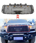 2007-2013 Front Grille Accessories For Tundra Matte Black Grill Lights Letters