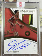 2017-18 John Collins Rookie Patch Auto Rpa Sealed