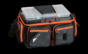 Ozark Trail 370 Large Pro Quick-access Soft Sided Fishing Tackle Bag Black