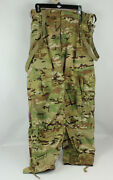 New Multicam Ocp Cold Weather Fr Soft Shell Pants Trousers Large Usa Made