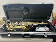 Eastman Tenor Saxophone Student Model Ets281 With Case And Mouthpiece New