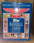 Topps Baseball Cards The Complete Picture Collection A 40 Year History Book