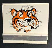 Exxon- Humble Enco -feature Matchbook Full 30 Strike - Put A Tiger In Your Tank