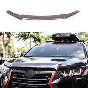 For Toyota Highlander 2014-2019 Gray Painted Hood Bug Stone Chip Deflector Guard