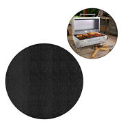Fire Pit Mat Heat Insulated Protector Deck Fire Resistant Pad Bbq Smoker