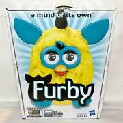 Not Released In Japan Made 2012 Furby Yellow Blue U.s. Version English Hasbro
