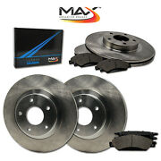 2006 2007 2008 Buick Lucerne Cx/cxl V6 Oe Replacement Rotors W/metallic Pads F+r