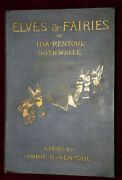 Exrare Elves And Fairies Ida Outhwaite 1st 1916 The Holy Grail Of Fairy Tale Books