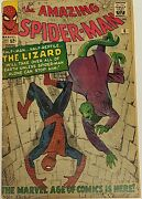 The Amazing Spiderman 6 Comic Books First Appearance Of The Lizard 1963