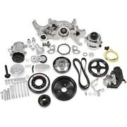 Holley 20-190p Ls Premium Mid-mount Complete Accessory Drive Kit Fits Ls7 And Ls E