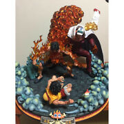 Dress Figure Aceand039s Death Red Dog Luffy Overseas