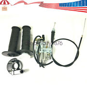 Carburetor And Handle Grip And Throttle Cable Fit For Suzuki Jr50 1978-2004mini Bike