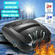 12v Dc Electric Car Heater Portable Auto Defroster Demister Heating Cooling Fan