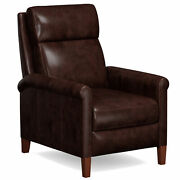 Sunset Trading Ethan Pushback Leather Recliner Light Gray Sy-1916-86-9210-89