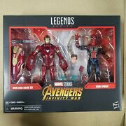 Marvel Legends Avengers Infinity War Iron Man Mark 50 And Iron Spider-read Details
