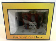 Mth Railking 30-9102 Operating Fire House Mib/new From Estate Find