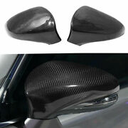 Real Carbon Fiber Car Side Mirror Cover Caps For 2014-2018 Lexus Is250 Is350