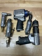 Ingersoll Rand And Cornwell Air Tools Lot Die Grinders, Drill, Impact, Ratchet