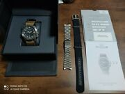 Glycine Airman Dc-4 Watch Menand039s Vintage Fashion With Belt Used Ship From Jpn F/s