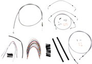 Burly B30-1095 Braided Stainless Steel Cable/brake Line Kit