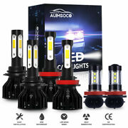 For Chevy Sonic 2012 2013 2014 2015 2016 4-side Led Headlight And Fog Bulbs Combo