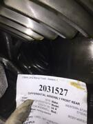 Ref Meritor-rockwell Rd20145r307 2016 Differential Assembly Front Rear 2031527