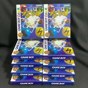Dragonite Holo Pokemon Card Gb Promo And Game Boy Soft Factory Sealed Lot Of 10