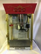 Great Northern Popcorn Maker Model 6091 Electric Red Stainless Steel Theatre