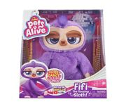 Zuru Pets Alive Fifi The Flossing Sloth Robotic Toy Dances To 3 Songs New