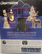 New Gemmy Holiday Christmas Lights Lightshow W/ Timer 6 Connections 80364