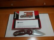 Spyderco Dlt Exclusive Para 3 . Red G10. M390 Blade Steel .never Carried Or Used