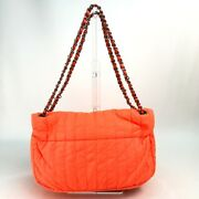 A67080 Cc Coco Mark With Pouch Shawl Shoulder Bag Nylon Women And039s No.2879