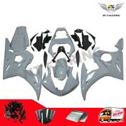 Nardo Gray Fairing Fit For Yamaha Yzf 03-05 R6 And 06-09 R6s Injection Molding N01