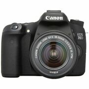 Secondhand 1-year Warranty Canon Eos 70d Lens 18-55mm Is Stm