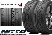 2 Nitto Invo 305/30zr19 102y Uhp Ultra High Performace Sport Traction Tires