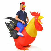 Mascot Costume Inflatable Rooster Costume Halloween Costumes Fancy Dress Cosplay