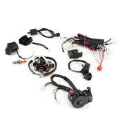 Electric Wiring Harness Wire Cdi Stator Kit For 150cc 200cc 250cc 300cc Df