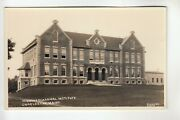 Clement Real Photo Postcard Higgins Classical Institute Charleston Me