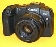 One Shot Canon Eos Rp Genuine Lenses With 32gb Updated To Firmware Full-size